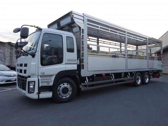 家畜運搬車 養豚場仕様車 4t仕様 家畜運搬車 家畜運搬車
